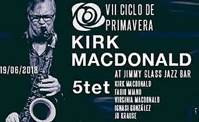 Kirk MacDonald Quintet at Jimmy Glass Jazz Bar