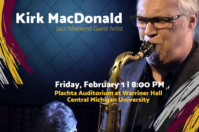 Kirk MacDonald at Central Michigan University